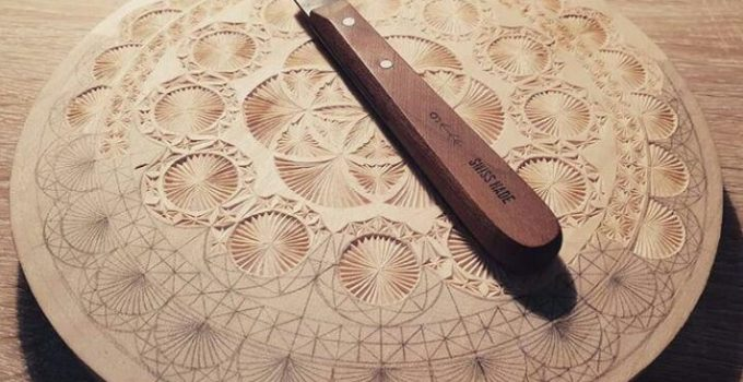 Zen carving the minimalist way of miniature chip carving wood dad
