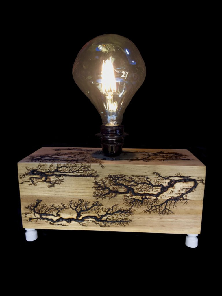 lichtenberg design on wooden projects