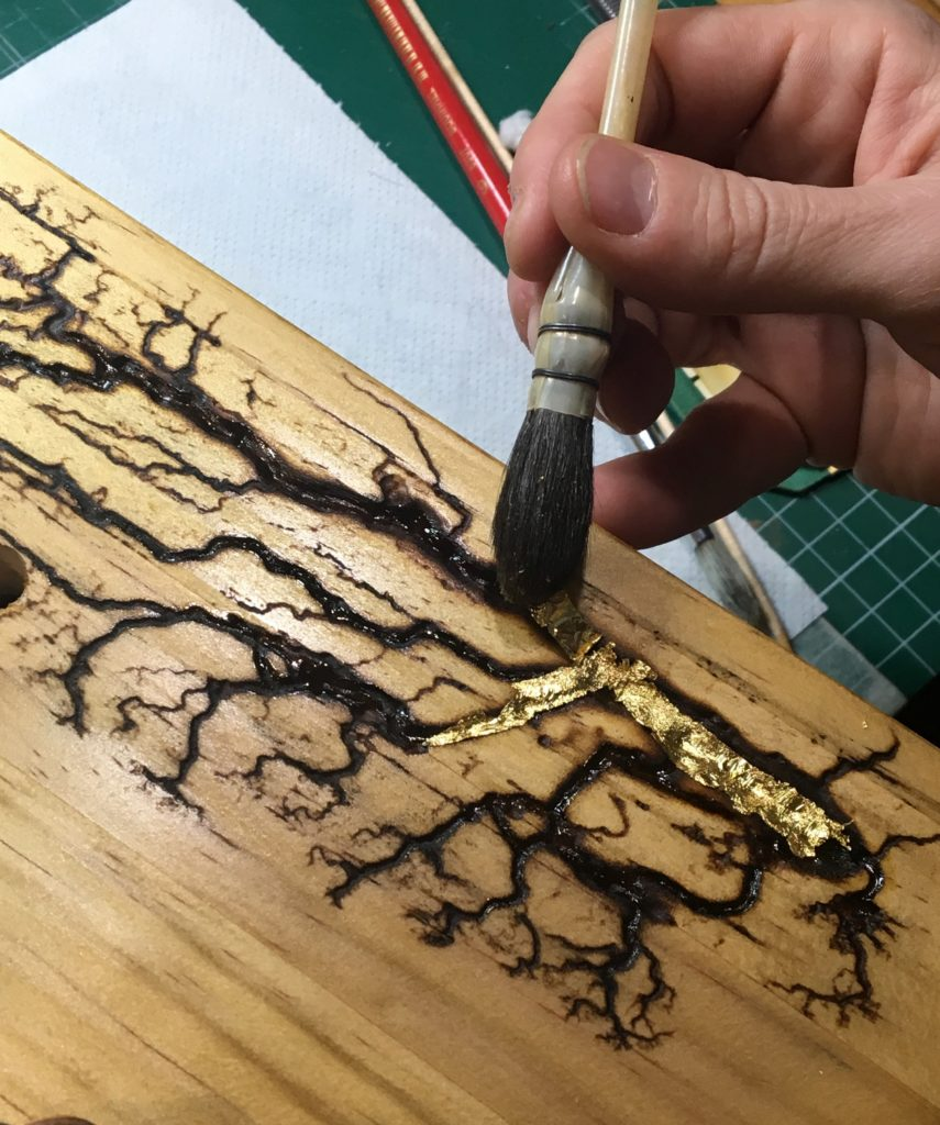 fractal wood burning and