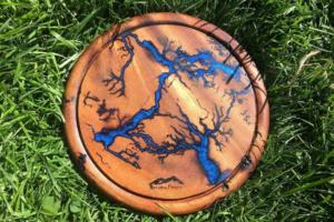lichtenberg art and epoxy resin