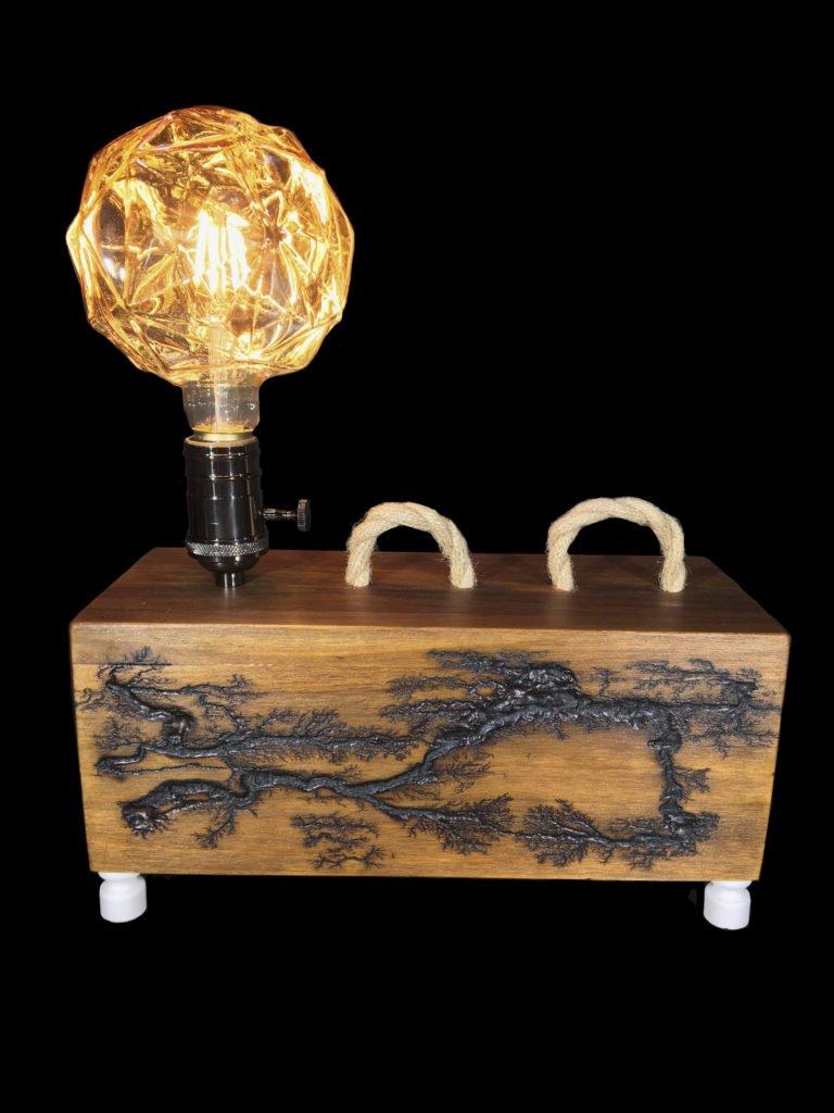 lichtenberg design on decorative lamps