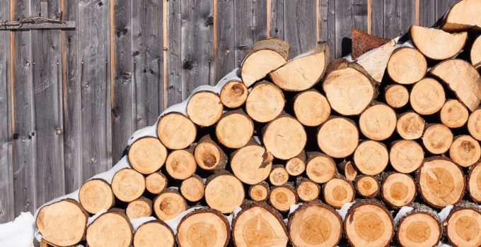 white pine firewood