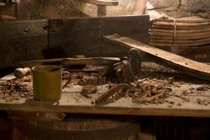 The carpenter's workshop