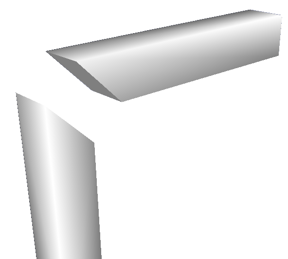 Mitre joint