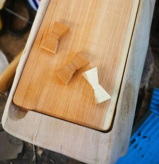 Wooden Paper Napkin Holder