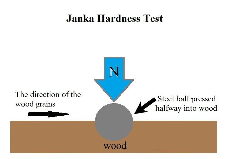 Janka Hardness Test