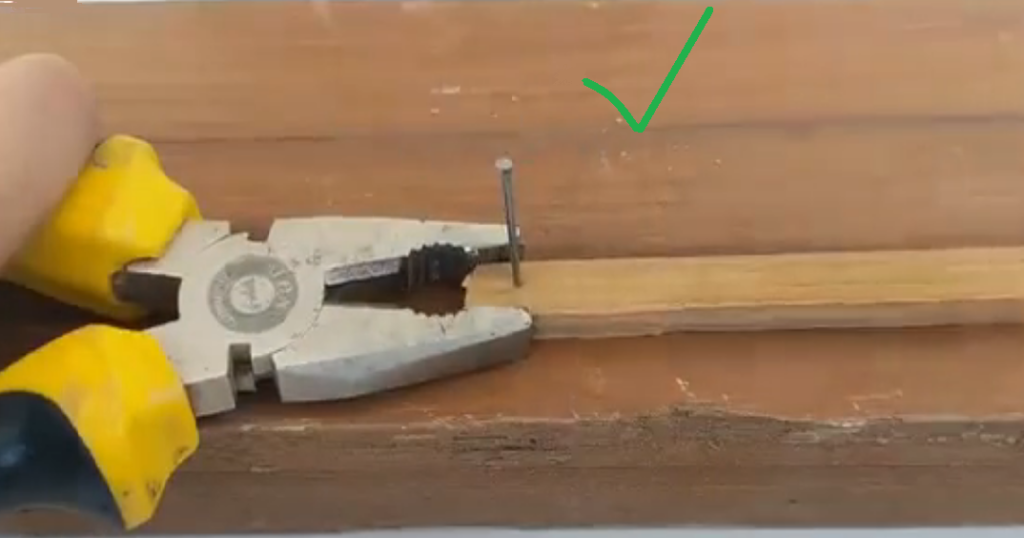 Driving a Nail Without Splitting the Wood2