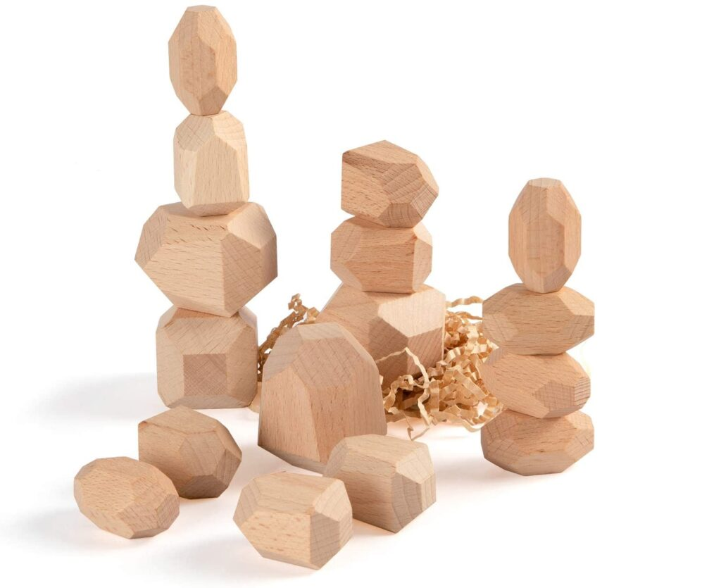 Wooden Balancing Blocks toy