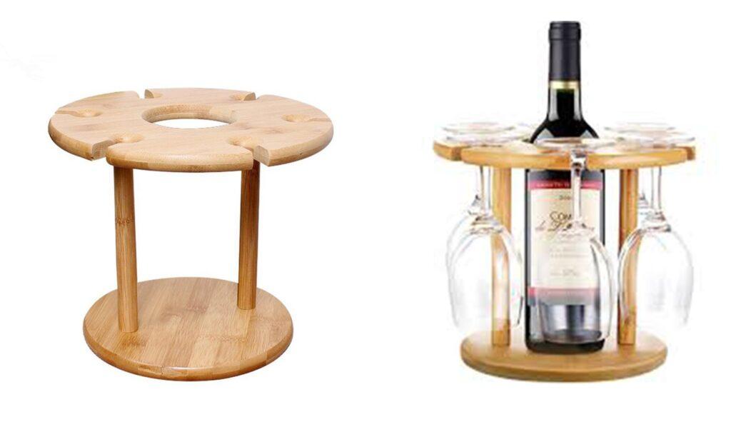Tabletop wine rack 0